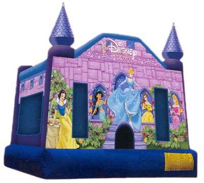 Disney Princess Jump Moonwalk