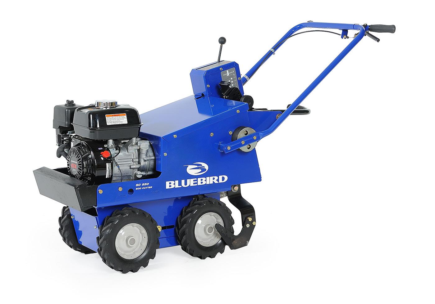 BlueBird SC550 SOD CUTTER