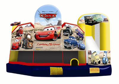 Cars 5-in-1 Combo Jumper